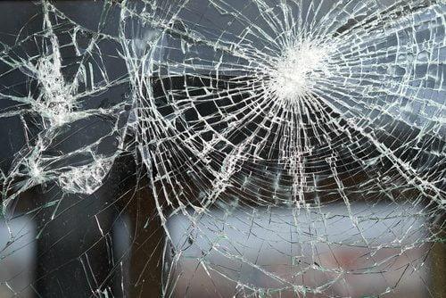 Splitterschutzfolie für Glasscheiben
