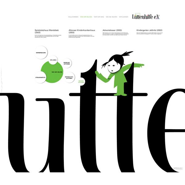 Die Webseite der Lüttenhilfe e.V.