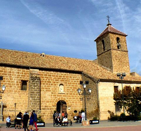 Templos jacobeos en Jaén:  Iglesia de Santiago Apóstol en Valdepeñas de Jaén
