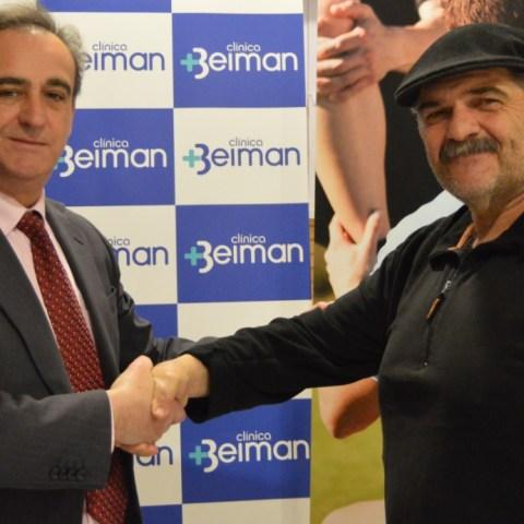 La asociación firma un convenio con la Clínica Beiman