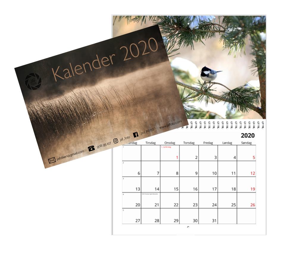 Kalender og side