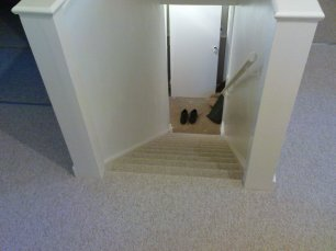 Carpet Stairs landing