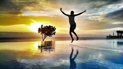 Es gibt traumhafte Sonnenuntergänge auf Sansibar
