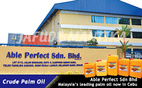 Philippines Palm Oil, Jafude Palm Cooking Oil Supplier And