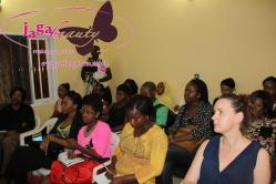 cross section of attendees