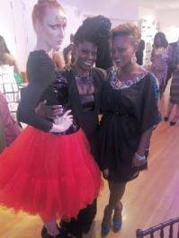 @danessa_myricks, model and me!