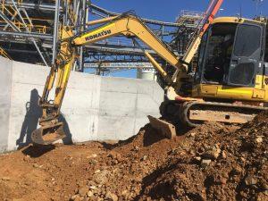 Jagcor earth moving excavator