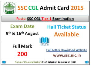 SSC_Admit Card