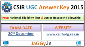 CSIR_UGC_Answer Key