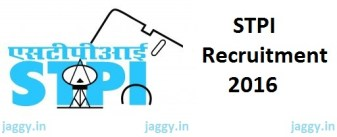 STPI Recruitment 2016