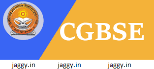CGBSE 10th and 12th Time Table 2017