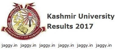 Kashmir University Result 2017