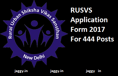 RUSVS application form