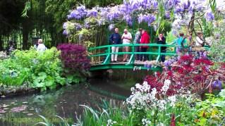 Claude Monet - Blåregn över dammen