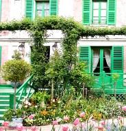 Claude Monet - del av huset