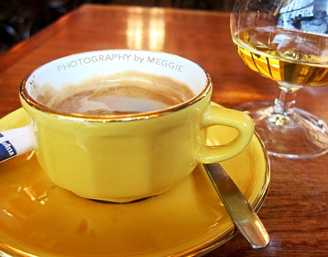 Espresso med calvados