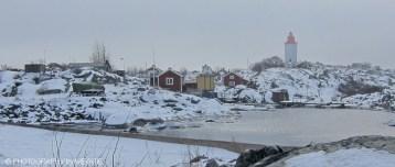 Landsort i vinterskrud