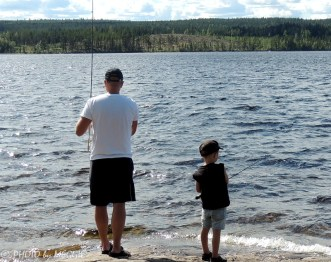 Fiske på hällorna
