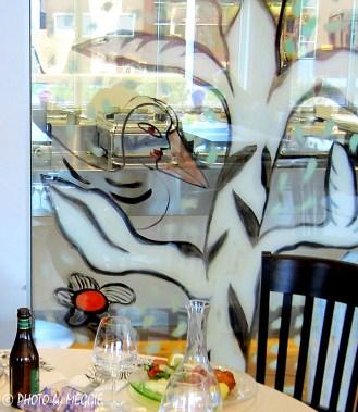 Glaskonst på restaurang 2