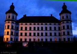 Nästan helt mörkt när vi till slut nådde fram till slottet.