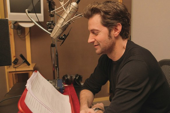 Richard Armitage reading Hamlet, Prince of Denmark: A Novel. Courtesy of A.J. Hartley