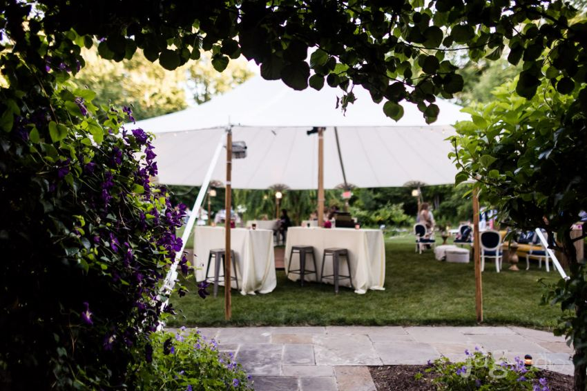 Best Connecticut wedding vendor forks fingers caterer garden party details jagstudios