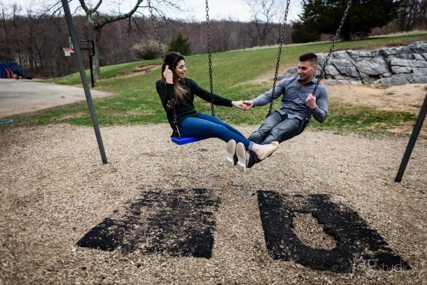 Elementary School Sweethearts Engagement Photography JAGstudios