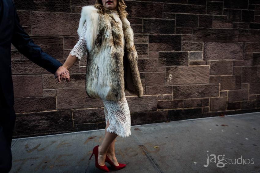 High Fashion Engagement NYC JAGstudios
