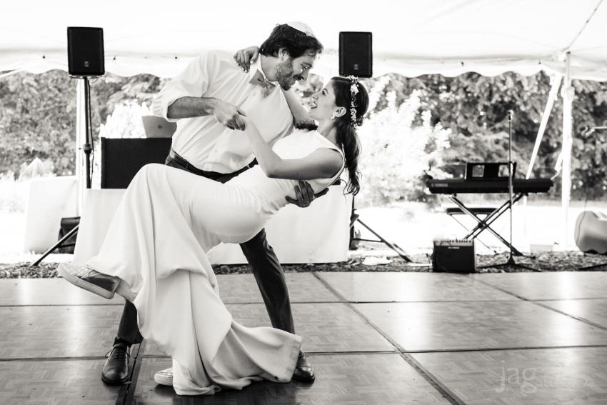 Jewish Retreat Center Wedding, Falls Village, CT