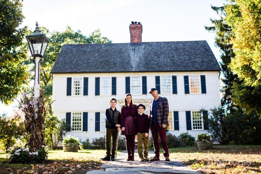 Winvian Farm family forever session portraits
