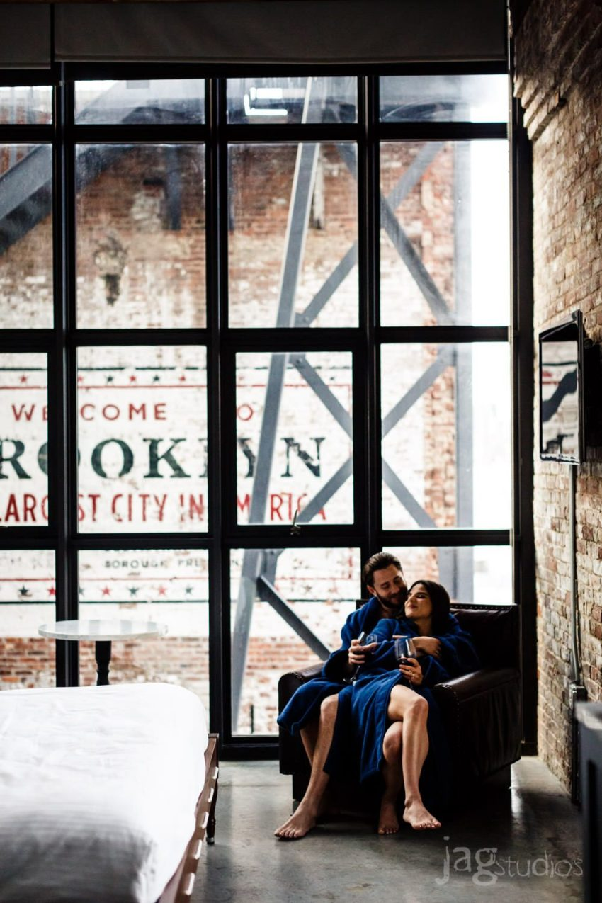 Whythe Hotel Brooklyn Engagement JAGstudios