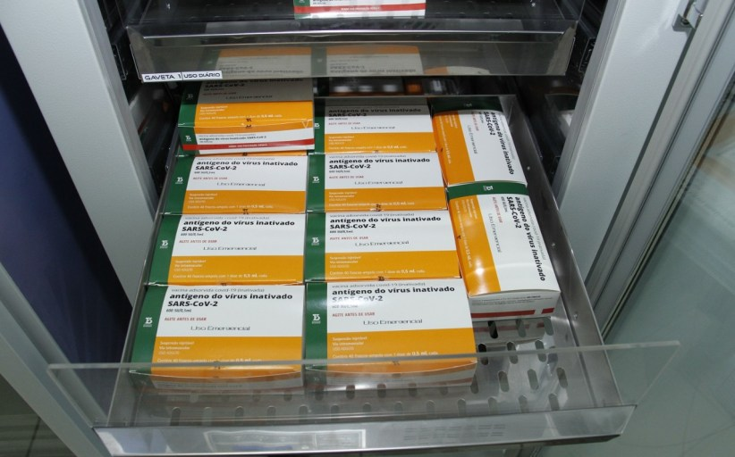 Jaguariúna recebe mais 1.470 doses da vacina Coronavac