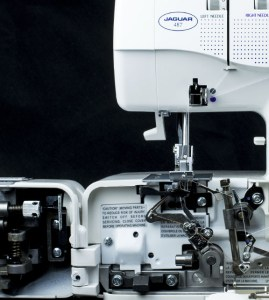 Jaguar Sewing Machines overlocker model 487 image 1