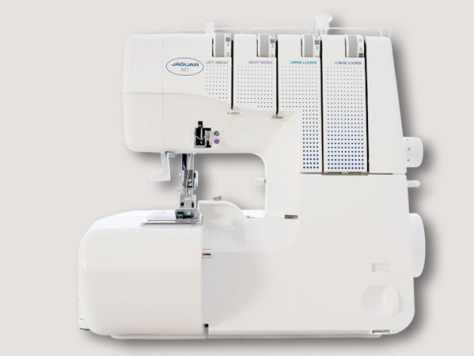 Jaguar 487 overlocker sewing machine