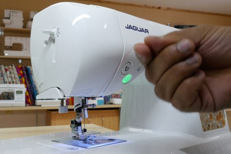 Easy threading Jaguar sewing machines