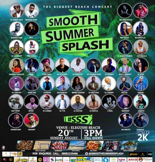 Smooth Summer Splash 2017