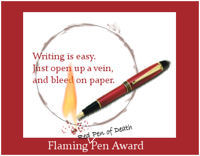 Flaming Red Pen of Death™ Award