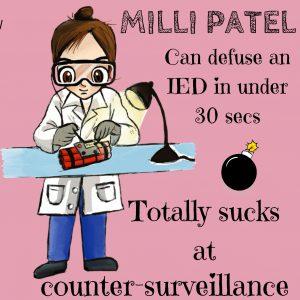 Milli - the explosives expert