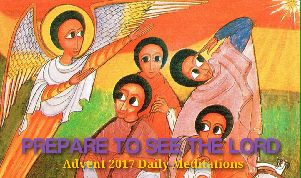 Advent 2017 Daily meditations