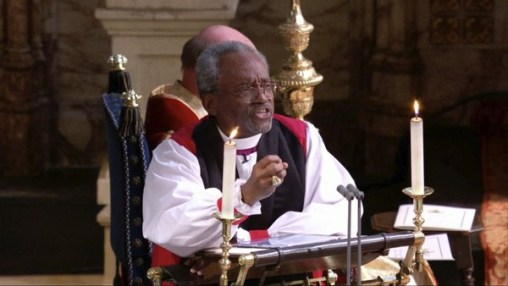 royal wedding bishop curry
