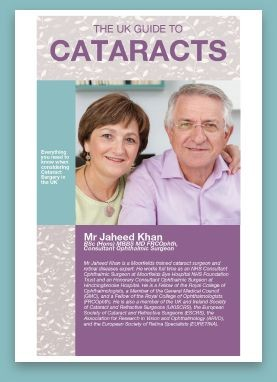 Fill in your details and receive the UK Guide to Cataract Surgery