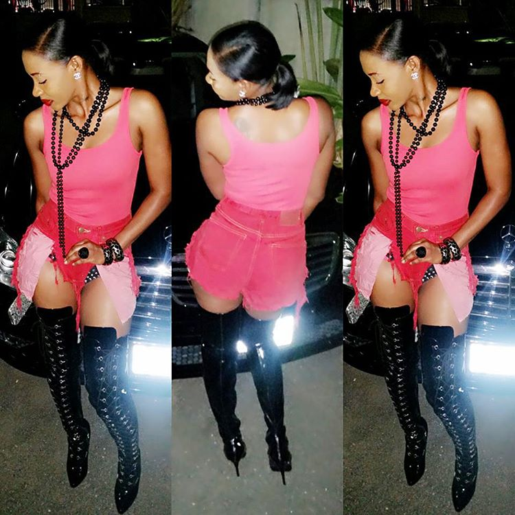 kevia the diva take style out 2015 red carpet (1)