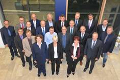 Die Gründungsmitglieder des Ostallgäuer Wirtschaftsbeirats