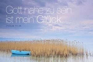 Jahreslosung 2014 - Boot Faltkarte von Heiko Bräuning