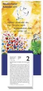 Neukirchener Abreißkalender 2015