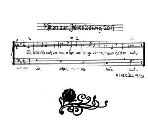 Kanon zur Jahreslosung 2017 von Reinhard Plate
