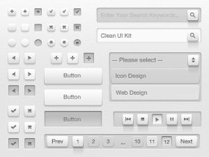 clean_ui_kit_dribbble_preview