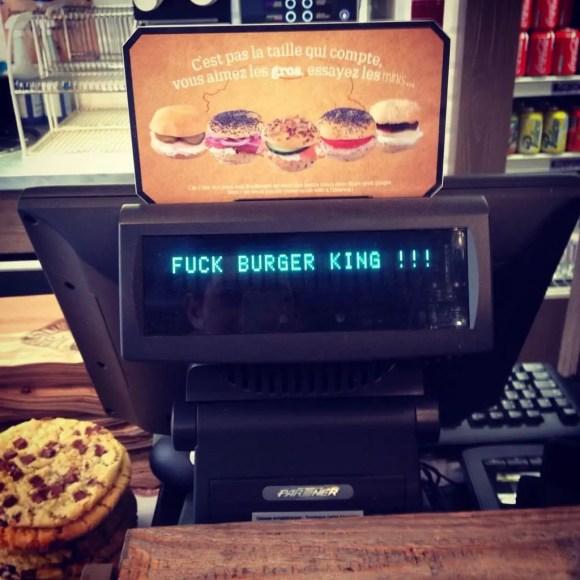 Bagelstein - Fuck Burger King