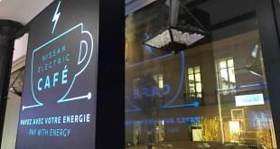 Nissan Electric Café : pédalez, dansez, marchez… pour payer votre café !