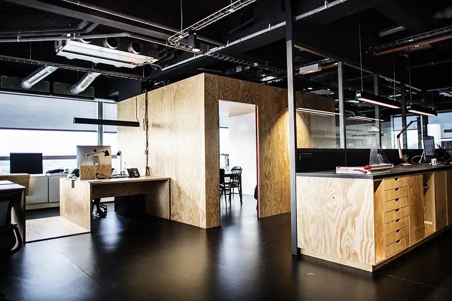 Le les nouveaux bureaux perchés d havas paris